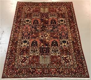 Handmade Persian Bakhtiari 7.0x10. 4