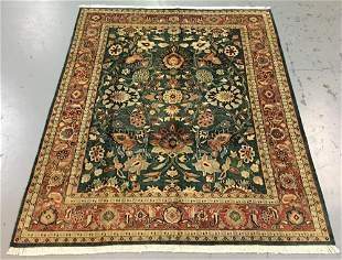 Handmade Indo Persian Design 8.0x10.6