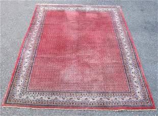 Very Beautiful Semi Antique All Over Persian Sarouk Mir