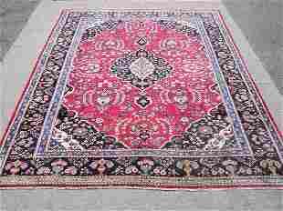 Lustrous High Quality Handmade Persian Mashhad