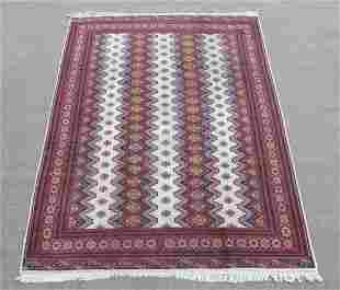 Intricate Knotted Vintage Yomut Turkman Tribal 10x6.7
