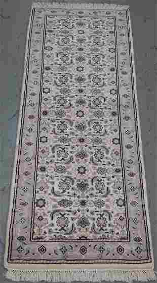 Handmade Indo Herati Design Runner 2.6x7.10