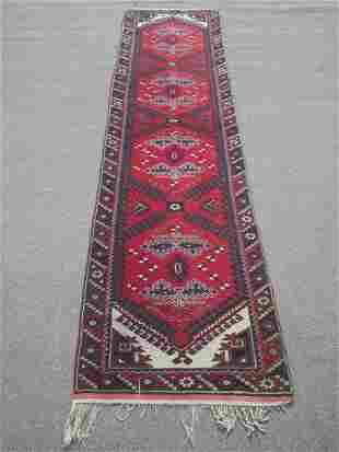 Handmade Afghan Tribal Runner 2.7x9.8