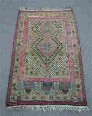 Turkish Handmade Rug 2.11x4.5