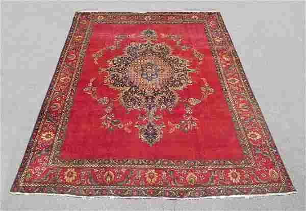 Charming Semi Antique Persian Mahal 12.8x9.8