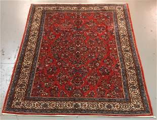Handmade Persian Sarouk 8.3x11.3