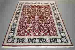 Handmade Indo Kashan Design 10.2x14.3