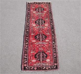 Gorgeous Semi Antique Persian Borjalo 3.7x10.0
