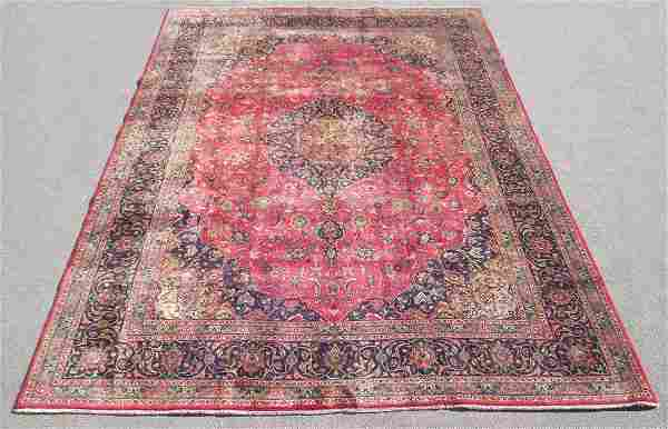 Investment Semi Antique Persian Mashhad 12.9x9.6