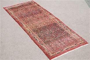 Beautiful Rare Symmetrical Persian Bidjar 3.7x9.3