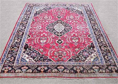 Lustrous Persian Mashhad 12.10x9.5