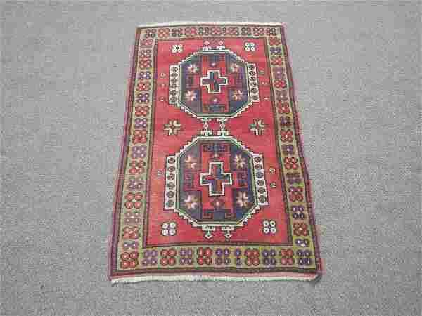 Turkish Handmade Rug 4.4x2.8