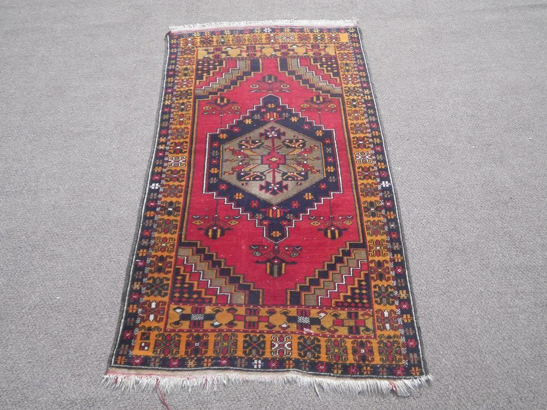 Turkish Handmade Rug 5.9x3.3