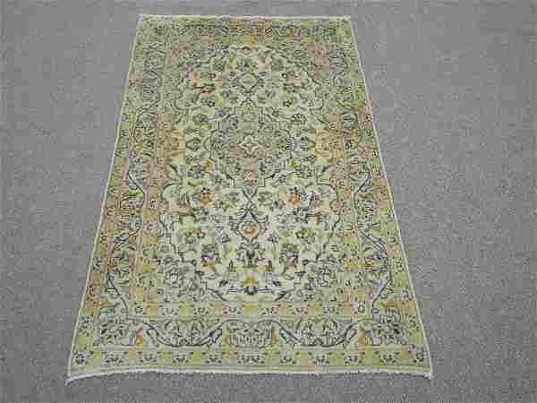 Handmade Persian Kashan 3.2x5.4