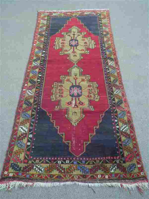 Semi Antique Shirvan Design 4.0x9.1