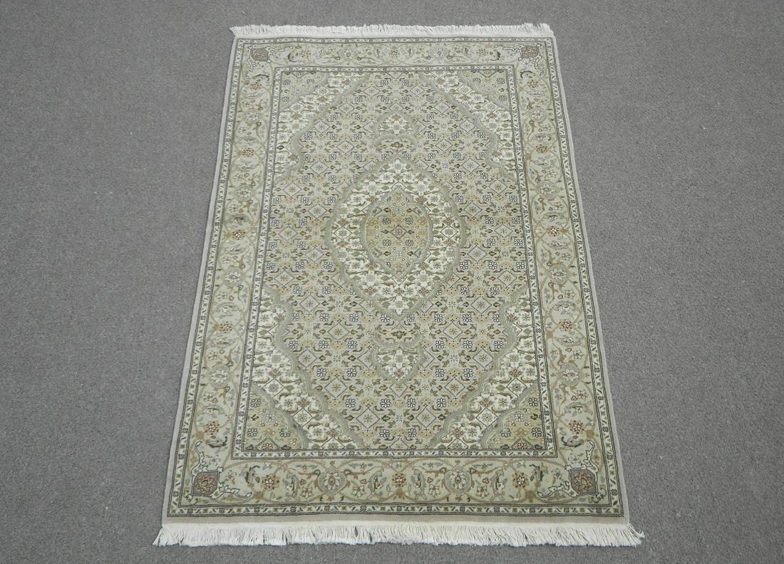 Part Silk Persian Tabriz Design 3.9x5.9
