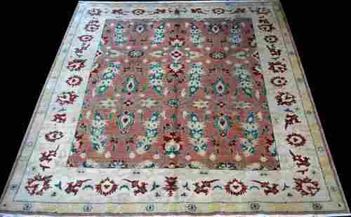 Beautifully Contrasted Authentic Handmade Egyptian Rug