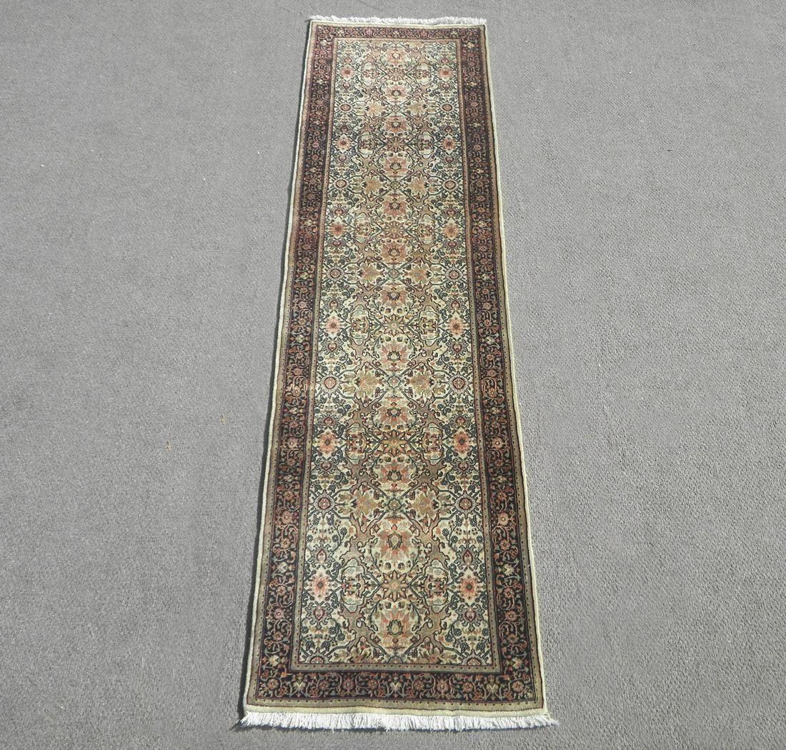 Handmade Indo Herati Design 2.7x9.6