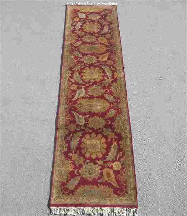 Handmade Indo Khorasan Design 2.6x9.10