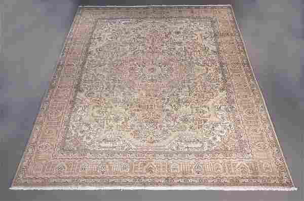 Handmade Persian Tabriz 11.10x13.4