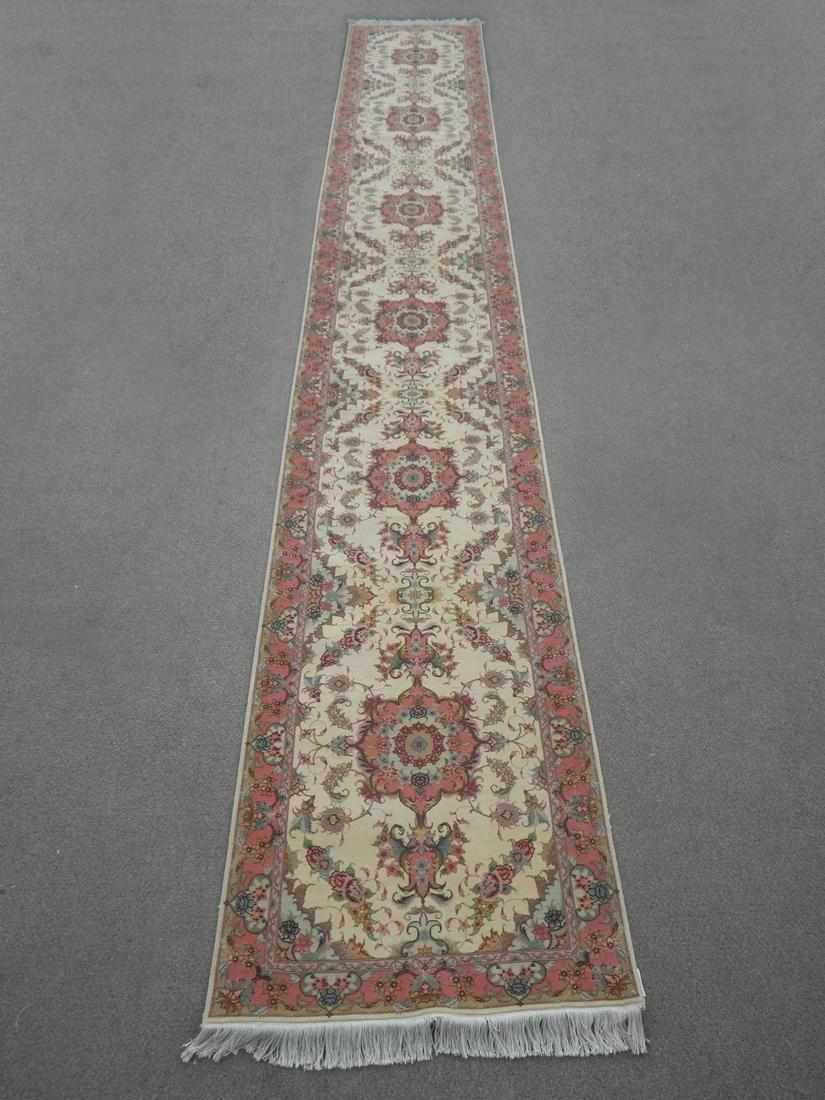 Wool & Silk Persian Tabriz 19.5x2.10