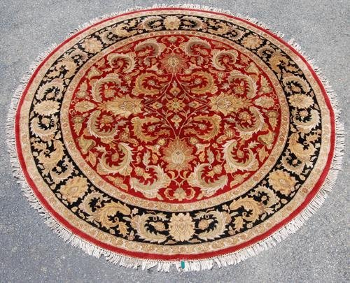 VERY GORGEOUS AGRA INSPIRED DESIGN ROUND RUG