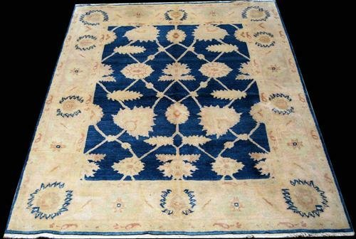 NICELY CONTRASTED EGYPTIAN RUG