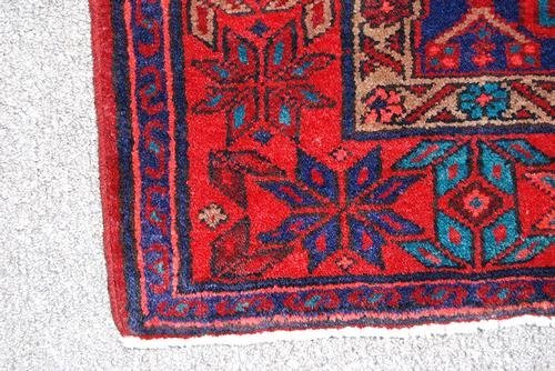 Highly Detailed Hand Woven Semi Antique Persian Hamedan - 3