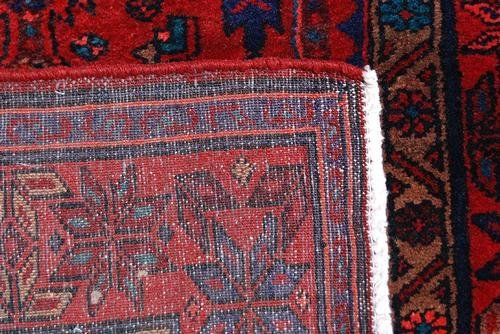 Highly Detailed Hand Woven Semi Antique Persian Hamedan - 5