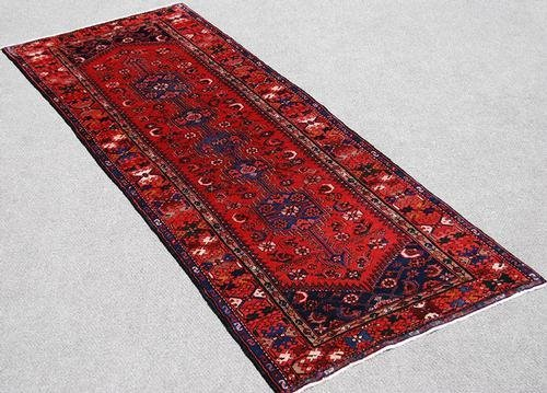 Fantastic Hand Woven Semi Antique Persian Hamedan