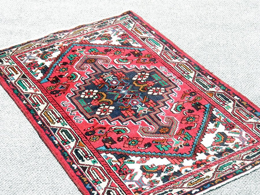 Highly Detailed Hand Woven Persian Hamadan