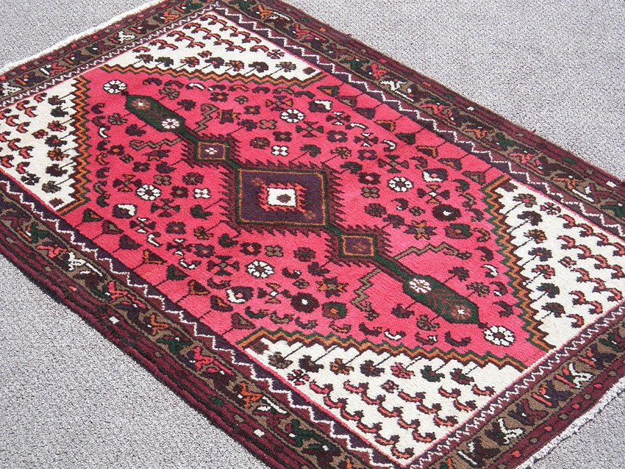 Fine Hand Woven Unique Design Persian Hamadan