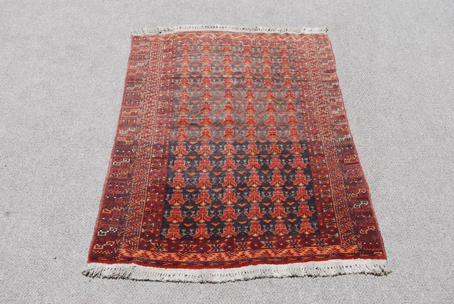 EXCELLENT DESIGN SYMMETRICAL PERSIAN BALOOCH RUG - 2