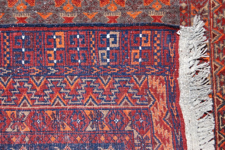 EXCELLENT DESIGN SYMMETRICAL PERSIAN BALOOCH RUG - 4