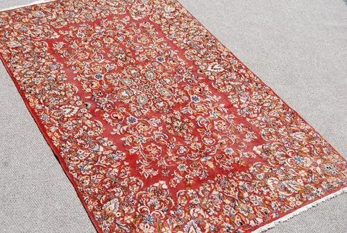 Fascinating Hand Woven Antique Persian Lavar Kerman