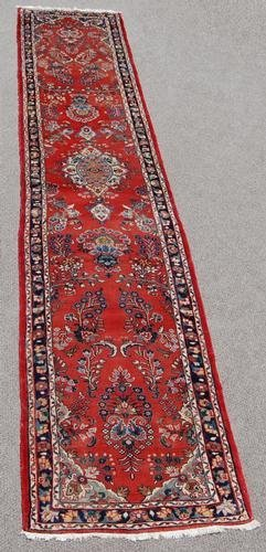 Simply Beautiful Fine Quality Persian Heriz Runner - 2