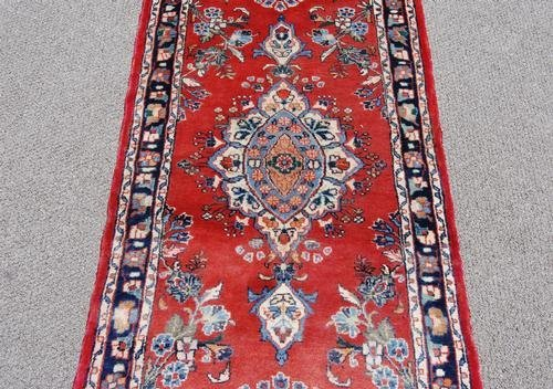 Simply Beautiful Fine Quality Persian Heriz Runner - 3