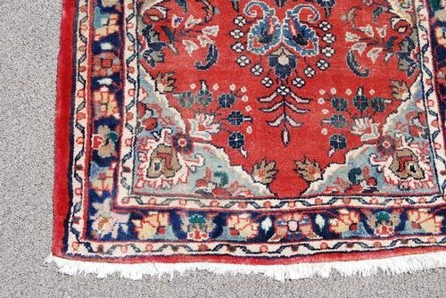 Simply Beautiful Fine Quality Persian Heriz Runner - 4