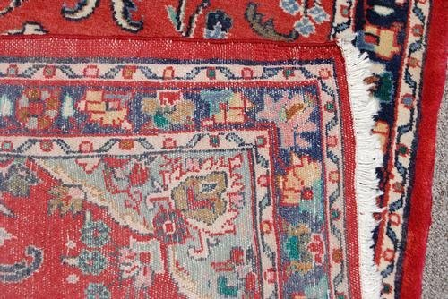 Simply Beautiful Fine Quality Persian Heriz Runner - 5
