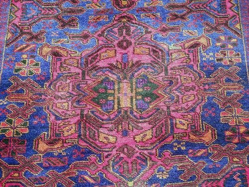 Glorious Authentic Persian Balouch 3.9 x 6.10 - 3