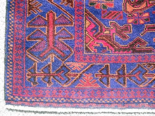 Glorious Authentic Persian Balouch 3.9 x 6.10 - 4