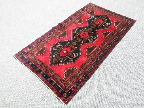Splendid Semi-Antique Persian Balouch 3.6 x 6.2