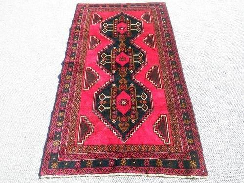 Splendid Semi-Antique Persian Balouch 3.6 x 6.2 - 2
