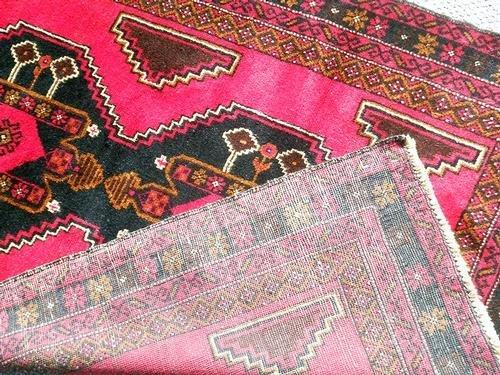 Splendid Semi-Antique Persian Balouch 3.6 x 6.2 - 5