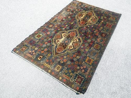 Elegant Semi-Antique Persian Balouch 3.10 x 6.8 ft.