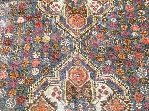 Elegant Semi-Antique Persian Balouch 3.10 x 6.8 ft. - 3
