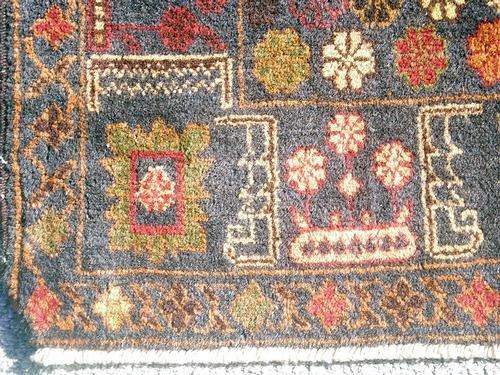 Elegant Semi-Antique Persian Balouch 3.10 x 6.8 ft. - 4