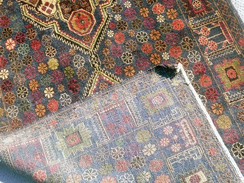 Elegant Semi-Antique Persian Balouch 3.10 x 6.8 ft. - 5