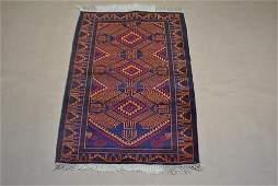 Fascinating hand made 2.11 x 4.9 Persian Balouch