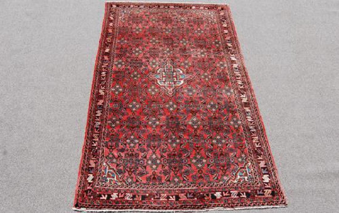 Fine Looking Semi Antique Persian Hosseinabad